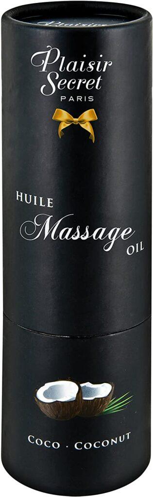 #1 Huile de massage comestible