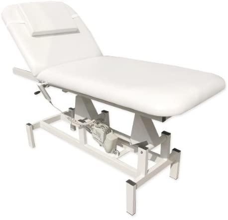 #2 Table de Massage Hydraulique - Lit salon de Beauté EPR-MST-154 Blanc