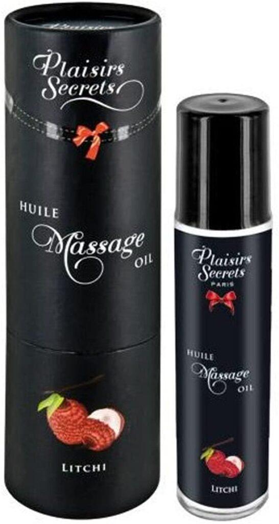 #3 Huile de massage comestible